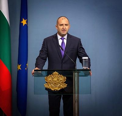 Снимка прессекретариат на държавния глава