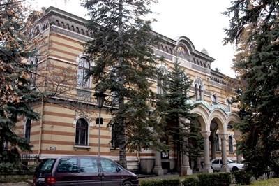 Сградата на Светия синод в София