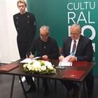 Мариус Донкин и Валерий Фокин подписват договора за дългосрочно сътрудничество за развите на театралното изкуство на Руската федерация и България.