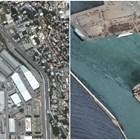 Бейрут преди и след експлозията СНИМКА: РОЙТЕРС