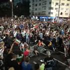 30-ти ден на протести: Шествието блокира Орлов мост (Обновява се)