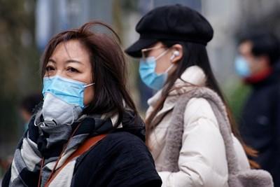 Китай съобщи за нови 124 случая на COVID-19 за денонощие СНИМКА: РОЙТЕРС