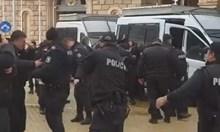 МВР: Лютивият спрей е ползван, защото е имало опасност за полицаи и протестиращи