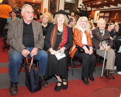 Татяна Лолова е чест посетител на културни събития. СНИМКА: АРХИВ