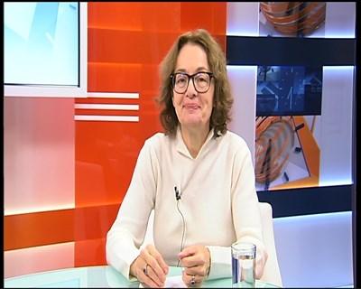 Политологът Румяна Коларова Кадър: тв Европа