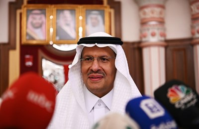 Mинистърът на енергетиката - принц Абдулазиз бин Салман Снимки: Ройтерс