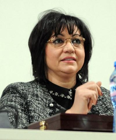 Соцлидерката Корнелия Нинова е против приемането на Истанбулската конвенция. СНИМКА: Алексей Димитров