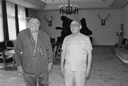 Приятелството между Живков и баварския премиер Франц Йозеф Щраус е съдбоносно.