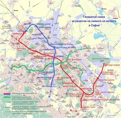 8 Stancii Ot Tretata Liniya Na Metroto Gotovi 74 Puskat Prvite 5