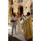 Романтичният Несебър със старините си е предпочитано място за сватбени тържества от българи и чужденци.