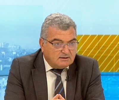 Директорът на столичната РЗИ Данчо Пенчев КАДЪР: БНТ
