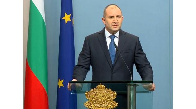 Президентът Румен Радев насрочи изборите за 4 април