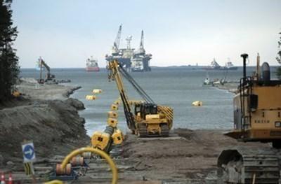 Промяната засяга тръби, положени по маршрута Починки-Анака в Ростовска, Волгоградска и Саратовска област, както и в Краснодарския край  СНИМКА: Ройтерс