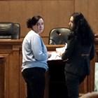 Емилия Ковачева (вляво) с адвокатката си