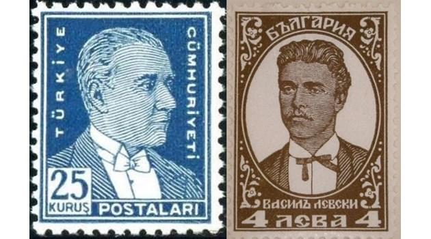 Левски, Ататюрк и Христо Лозев