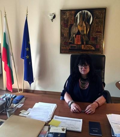Посланикът на България в Белгия Мая Добрева СНИМКА: Архив