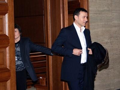 Миню Стайков в съда през 2009 г., когато става концесионер на ловното стопанство.