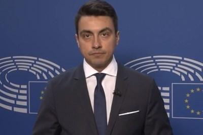 Момчил Неков СНИМКА: пресцентърът на евродепутата