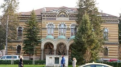 Сградата на Светия синод  СНИМКА:ЙОРДАН СИМЕОНОВ