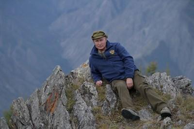Руският президент Владимир Путин в сибирската тайга СНИМКИ: Ройтерс