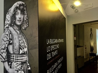"""Българската изложба е в Музея на Рим в """"Трастевере"""" до 12 януари. СНИМКИ: АВТОРЪТ"""
