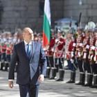 На Деня на Европа - 9 май, президентът Радев прие почетния караул на гвардейците.