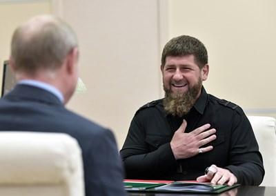 Чеченският лидер Рамзан Кадиров