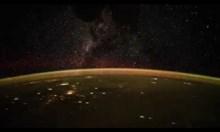 Таймлапс от Международната космическа станция