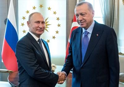 Двамата се срещнаха в средата на септември в Анкара Снимка: Ройтерс