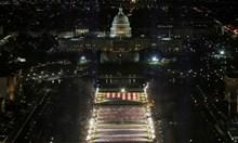 Вашингтон приличаше на укрепен лагер в последния ден на Тръмп в Белия дом (Снимки)