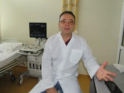"""Д-р Валентин Кръстев, инвазивен кардиолог в МОБАЛ """"Д-р Стефан Черкезов"""""""