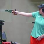 Антоанета Костадинова на финала на 25 м пневматичен пистолет в Токио. Българката завърши на 4-о място в дисциплината, след като на 10 м въздушен пистолет извоюва сребро. СНИМКА: ЛЮБОМИР АСЕНОВ, LAP.BG