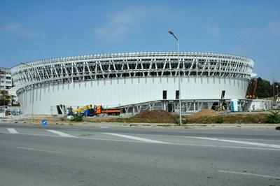 """Спортният комплекс до жк """"Славейков"""" трябва да отвори през пролетта."""