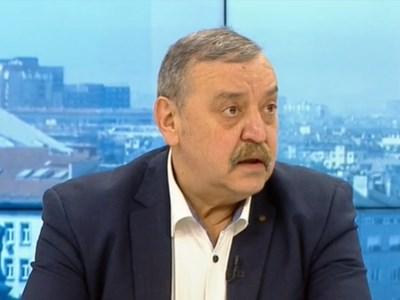 Проф. Тодор Кантарджиев СНИМКА: БНТ