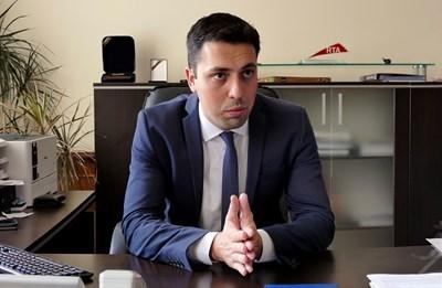 Зам. кмета на София Евгени Крусев. Снимка:Архив