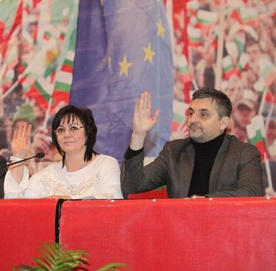 Лидерката Корнелия Нинова и настоящият и? заместник Кирил Добрев може да се изправят един срещу друг във вътрешните избори за председател на партията.