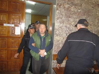 Петко Петков пред съда