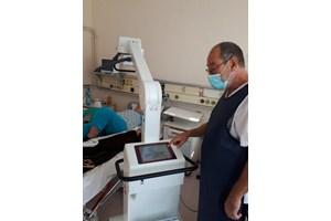 В болницата в Гълъбово компанията дари апаратура за справяне с COVID-19.