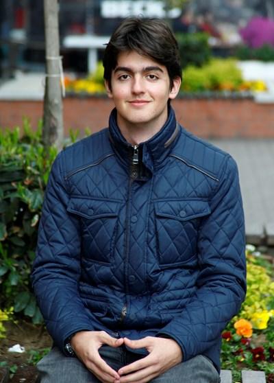 Димитър Ружев още от малък е любопитен за света. СНИМКА: Десислава Кулелиева