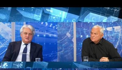Бойко Рашков и Сашо Диков по време на предаването