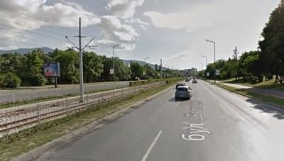 "Бул. ""България"" в София Снимка: Google street view"