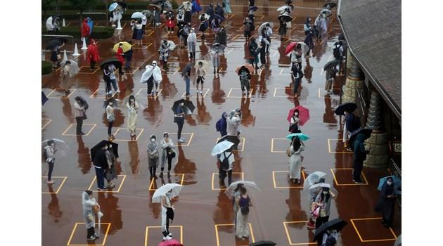 Отварянето на Дисниленд в Токио, след затварянето му заради коронавируса