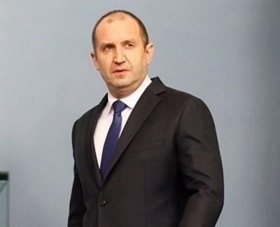 Румен Радев СНИМКА: Архив