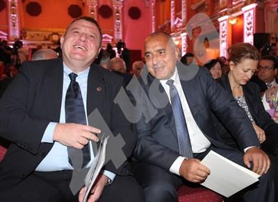 Бойко Борисов и Красимир Каракачанов ще договорят днес окончателно новия екоминистър. СНИМКА: 24 часа