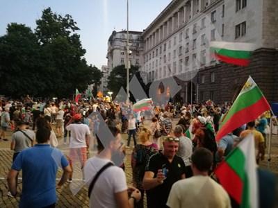 25-и ден протест в София СНИМКИ: Йордан Симеонов СНИМКА: 24 часа