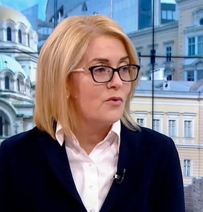 Даниела Машева Кадър: БНТ