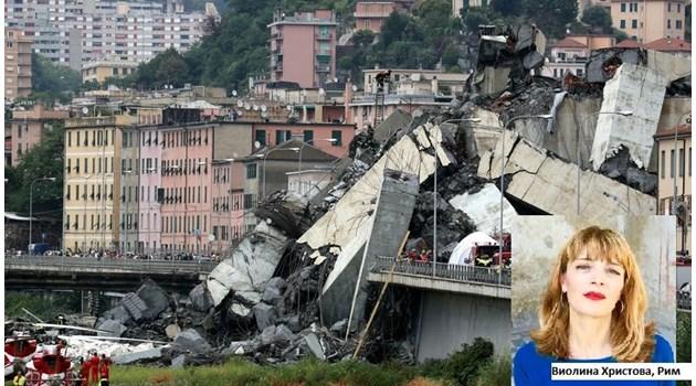 """Погребален агент пресече моста в Генуа и той падна: """"Явно още не е дошъл моят час"""""""