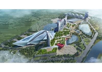 Китайският мегакомплекс до Мусачево предвиждаше инвестиции за над 1,5 млрд. долара.