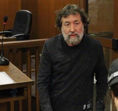 Николай Банев в ареста Снимка: Архив (24 часа)
