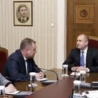 Георги Чолаков и Румен Радев СНИМКА: Прессекретариатът на президента